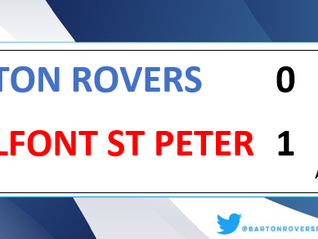 Rovers throw it away...again