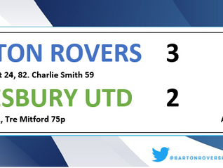 Rovers go 4th with 3-2 win