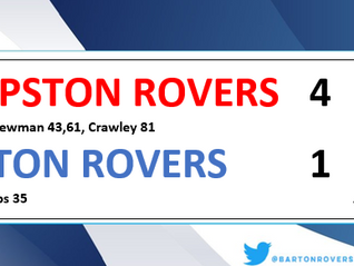 10 men Barton lose battle of the Rovers