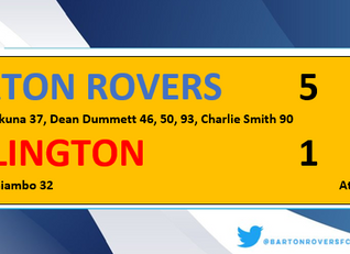 Five alive for The Rovers