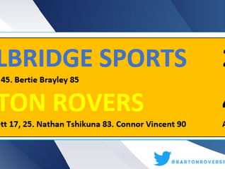 Rovers progress in Trophy
