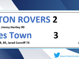 Rovers bow out of league cup