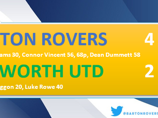 Four up for The Rovers