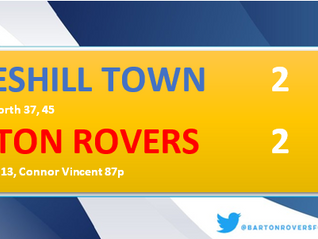 Opening day point for The Rovers