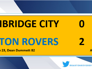 Rovers progress in The FA Cup