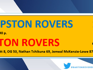 Barton win battle of The Rovers
