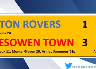 Ten men Rovers battle but beaten