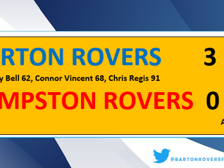 Battle of The Rovers goes to Barton