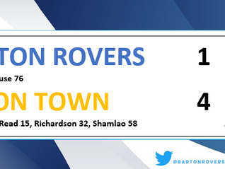 Rovers bow out in a game of 2 halves