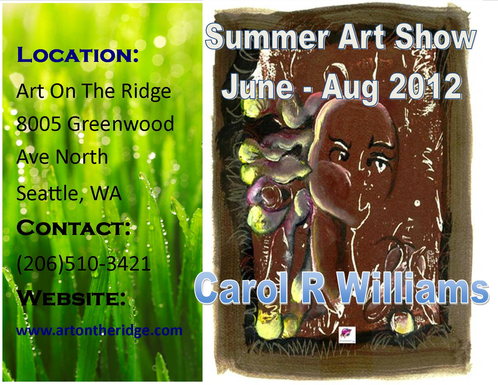 2012 Summer Art on Ridge