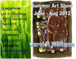 2012 Summer Art on Ridge