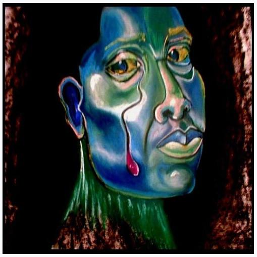 1997 Pastel Self Portrait