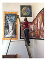 CRW Installing Art