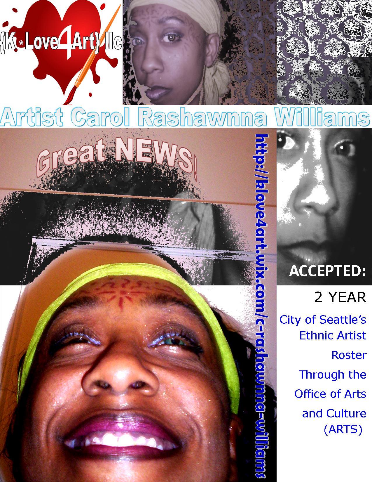 2014 Ethnic Artist Roster