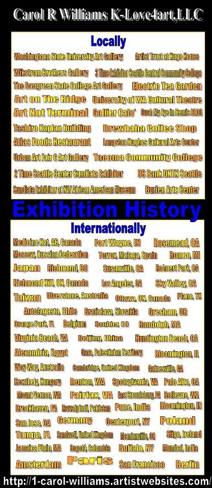 Exhibiton History