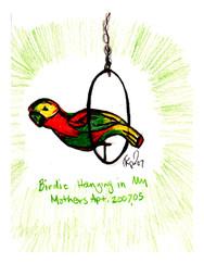 birdie study moms house