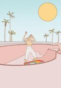 skate park pink