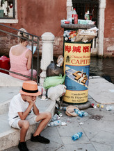 Trash in Venice