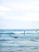 Sufers in Bali