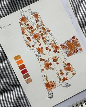 pattern design, rise again