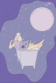 bathing in the universe