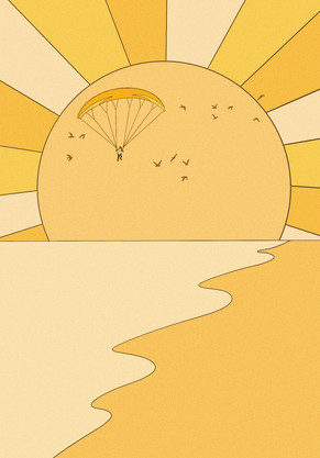 flying to the sun