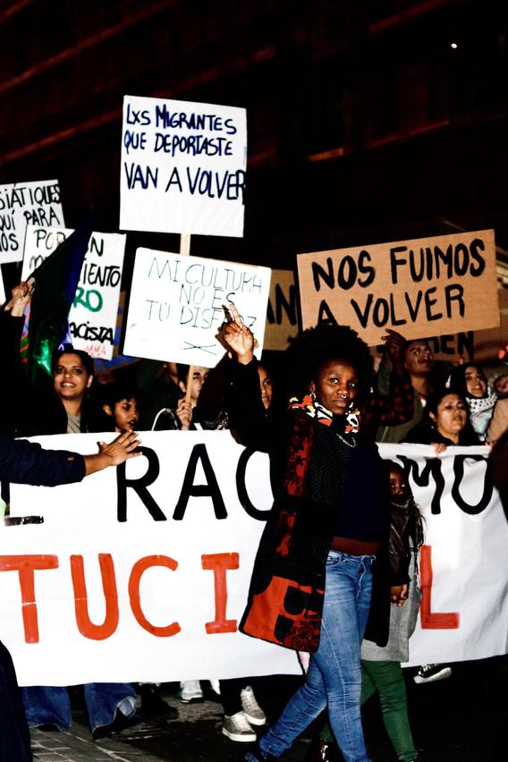 Demonstration in Madrid
