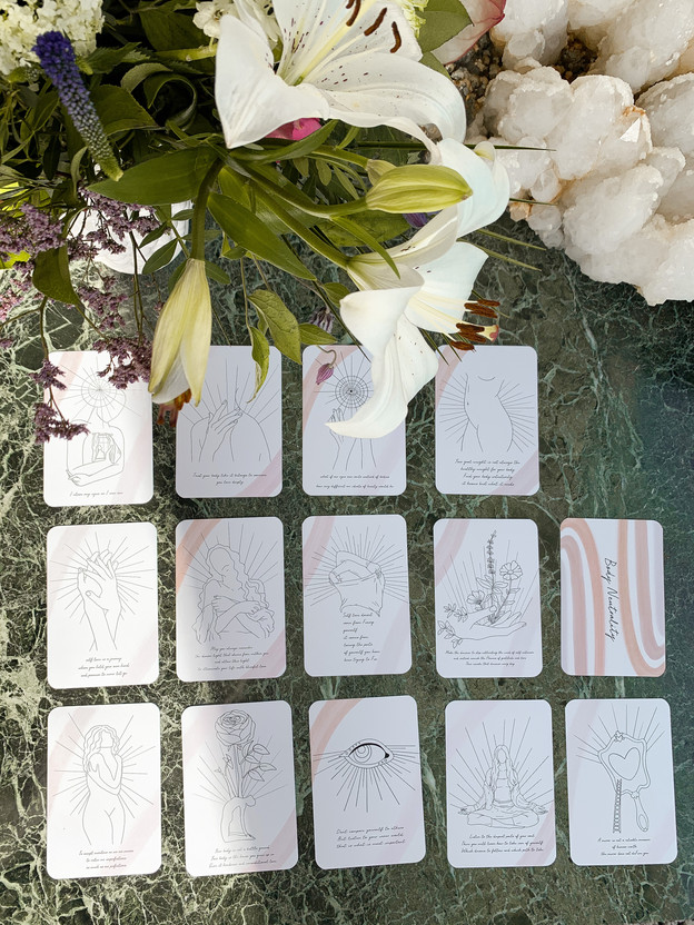 Body neutrality Affirmation cards