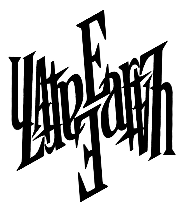 Late Earth Ambigram