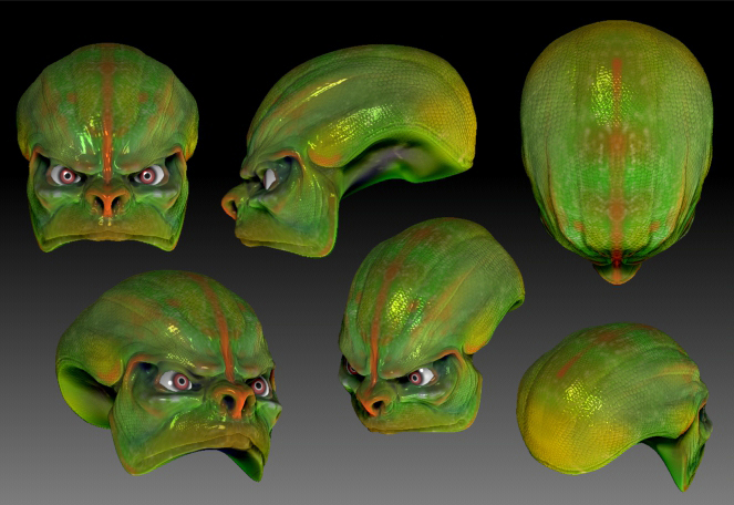 Alien Paint Test