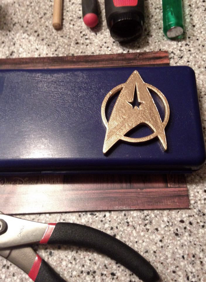 Star Trek Communicator Badge 02