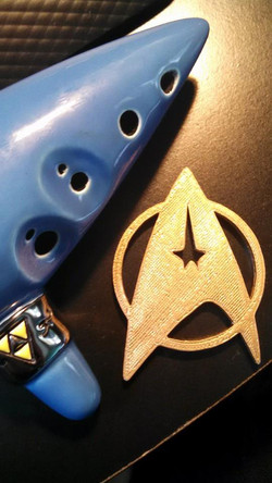 Star Trek Communicator Badge 04