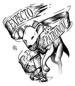 Exprectro Patronum Hyena