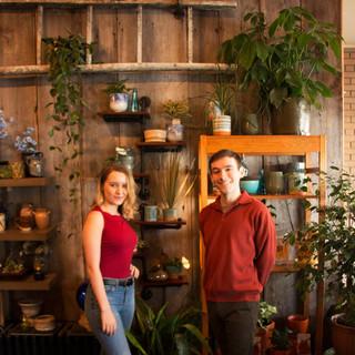 Audrey Fisher & Logan Geddes