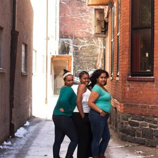 Amber Ward, Courtney Long, & Sushma Saha