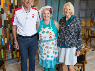 Governor and Mrs. Tony Evers make stop at Montello business