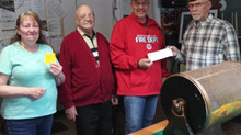 Jeanna's & American Legion Post 351 donate to Fire Department
