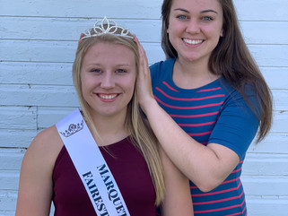 Halie Maier of Endeavor is named the 2021 Marquette County Fairest of the Fair