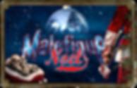 Logo Maléfique Noël MANOIR MAUDIT 2020 spectacle hivernal