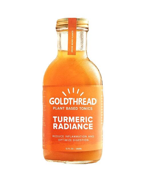 Goldthread- Turmeric Radiance 12 oz (6 pack)
