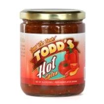 Todd's Hot Salsa 16oz