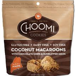 Choomi C Chip Sunflower Seed Macaroons Cookies 4.93oz