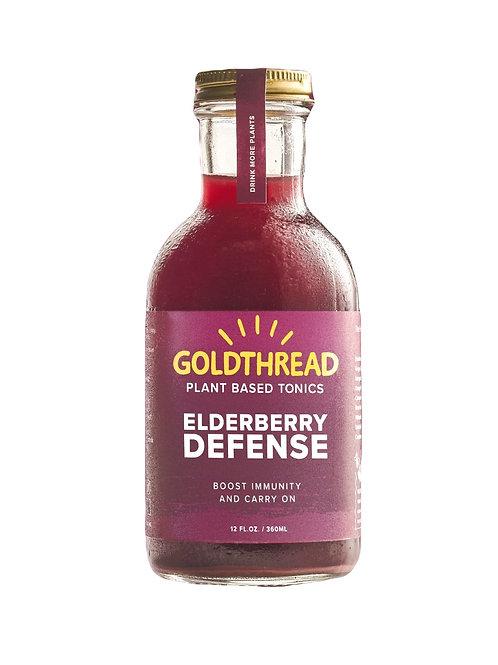 Goldthread - Elderberry Defense 12oz (6 pack)