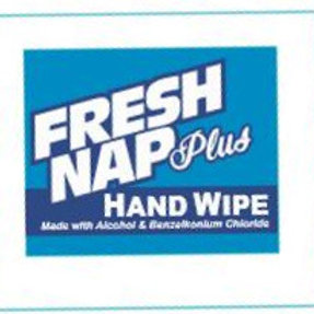 Fresh Nap Plus Hand Wipes (minimum order 30)