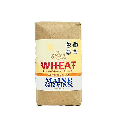 Maine Grains- Bran Flour 1.75lb Organic