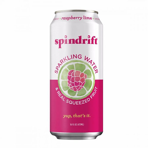 Spindrift Raspberry Lime Sparkling Water 16oz (12 pack)