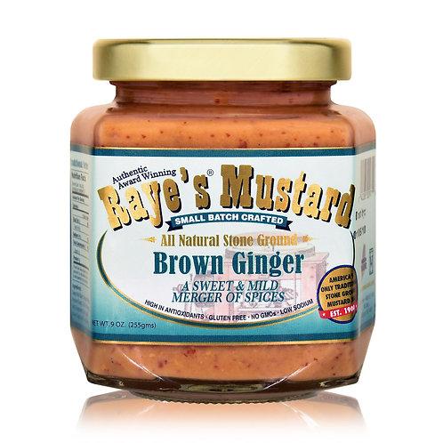 Raye's Mustard- Brown Ginger
