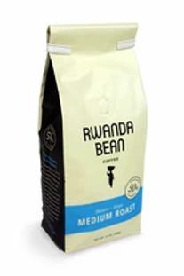 """Rwanda Bean - medium IKIZERE """"HOPE"""" ROAST 12oz (single bag)"""
