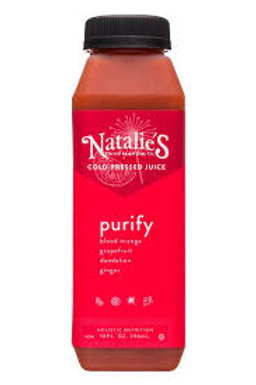 Natalie's Holistics Purify Cold Pressed Juice 10 oz (9 pack)