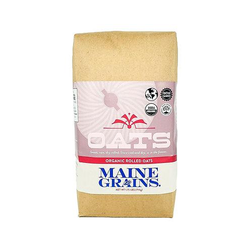 Maine Grains- Rolled Oats 1.75-4.0 lb Organic